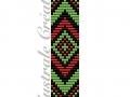 Schéma Bracelet Loom Boho 2