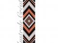 Schéma Bracelet Loom Boho 1