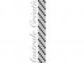 Schéma Bracelet Loom stripes