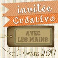 Invitée Créative Mars 2017