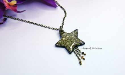 Collier « Falling Star »