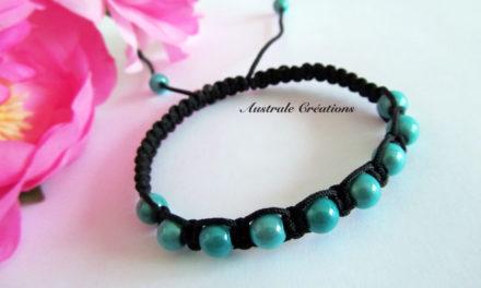 Bracelet Shamballa Turquoise