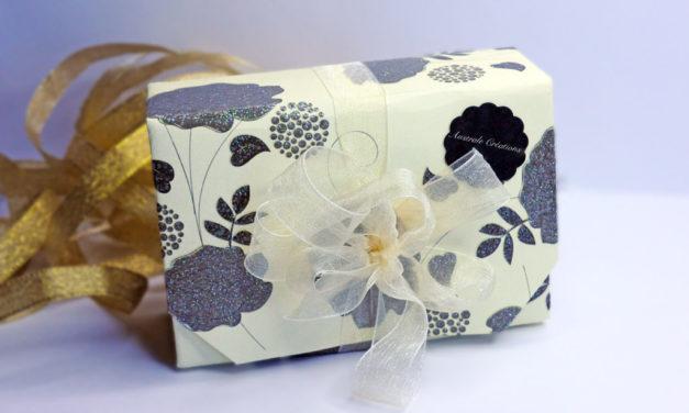 Boîtes Cadeaux en pliage Origami (sans colle)