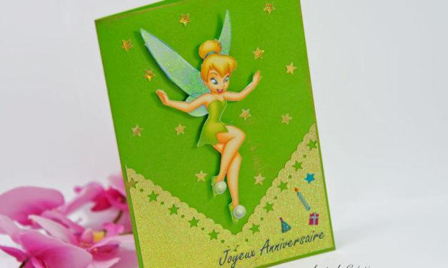 Carte 3D : Tinker Bell