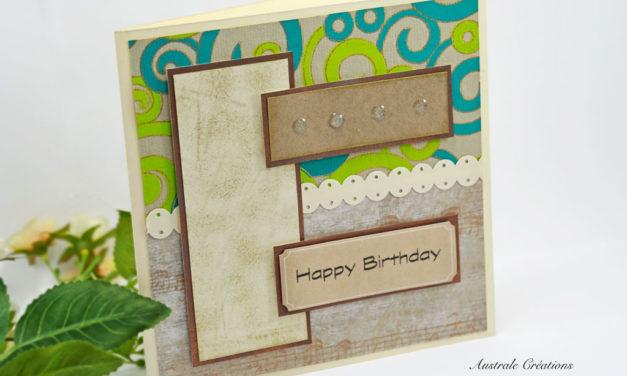 Carte 3D : Happy Birthday