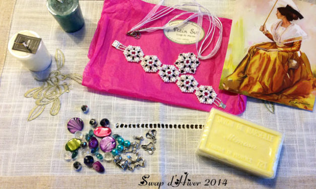Swap d'Hiver 2014 : Ce que j'ai reçu de Sharon !