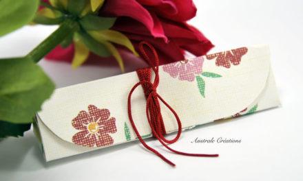 Boites Cadeaux Triangles en pliage Origami (sans colle)