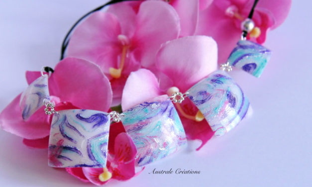 Parure «Frosted Glow»