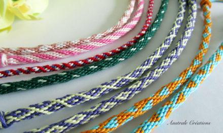 Bracelets Kumihino de l'amitié (Eté 2013)