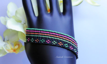 Bracelet Loom « Little Flowers »