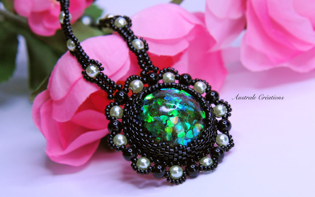 Collier « Love Green »