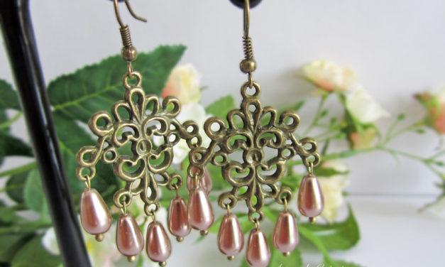 Boucles d'oreilles «Vintage Pearl»
