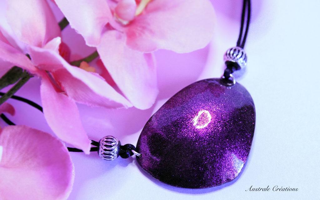 Parure «Violet Orchid»