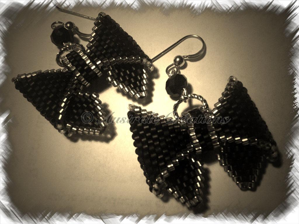 Boucles d'oreilles « Bowtie »