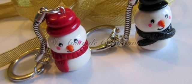 Portes clés «Bonhomme de neige»