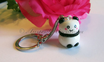 Mes portes clés «Petits Pandas Kawaii»