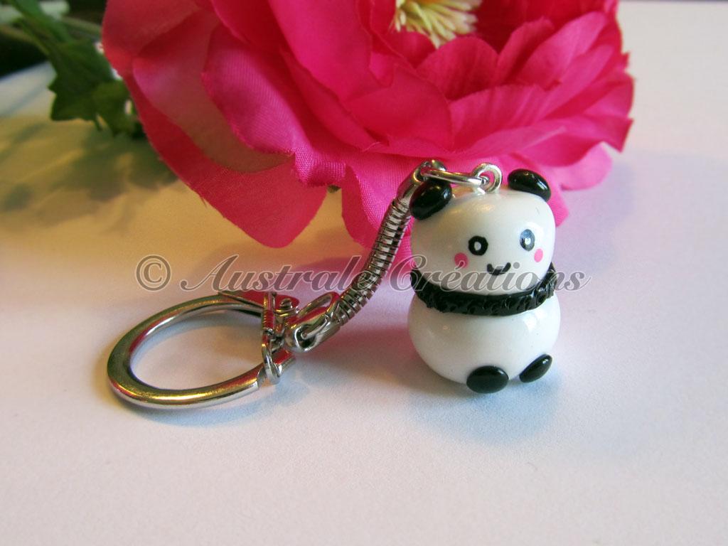 113Porte cles kawaii panda 8