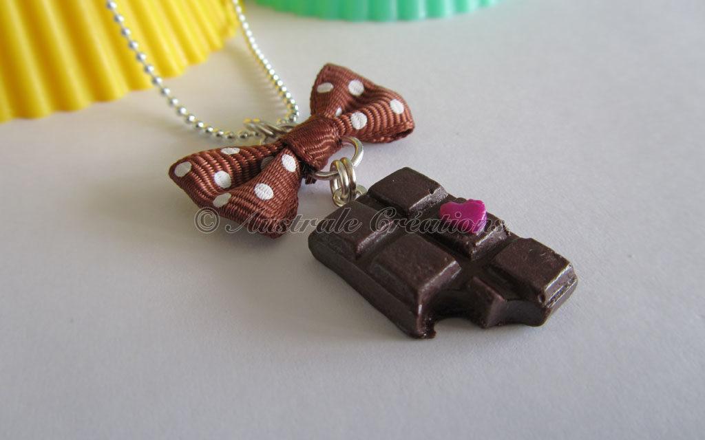 Parure «Coeur de Chocolat»