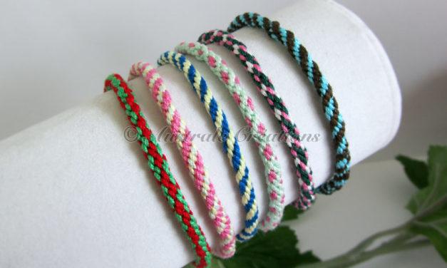 Bracelets Kumihino de l'amitié