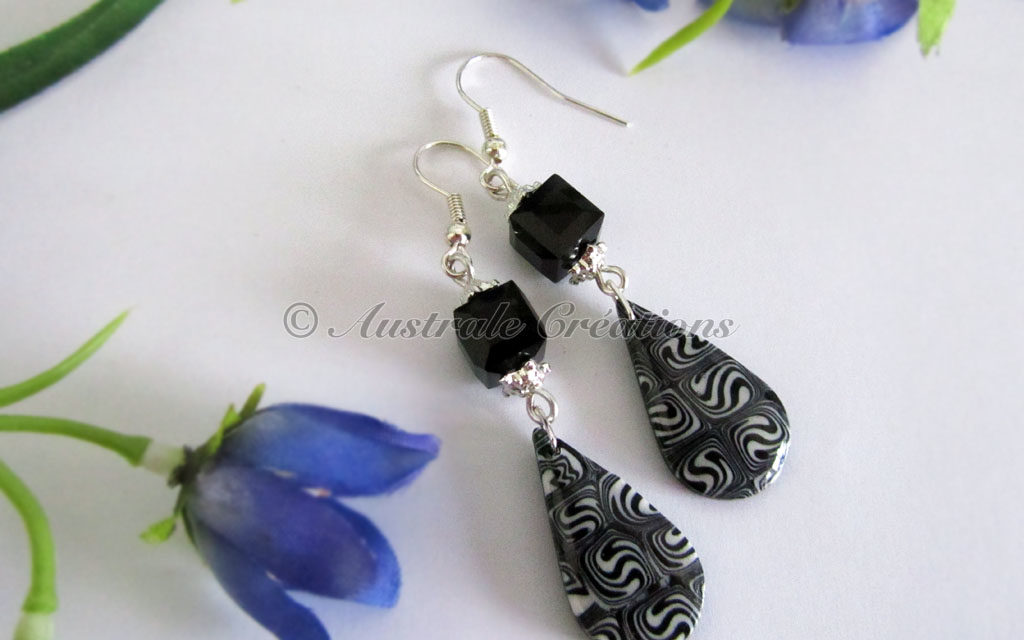 Boucles d'oreilles « Tao Tears » (version 2)
