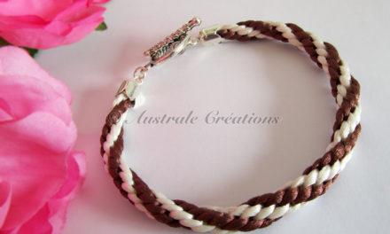 Bracelets Kumihino version «Luxe»