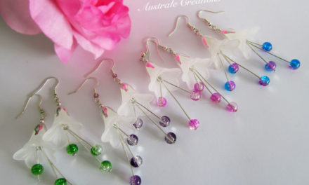 Boucles d'oreilles « Frosted Flowers »
