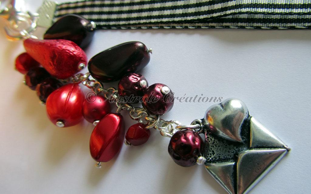 Bijoux de sac en Perles de Bohème
