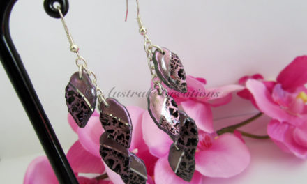 Boucles d'oreilles « Midnight Crawl »
