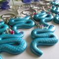 Portes clés « S comme Serpent »
