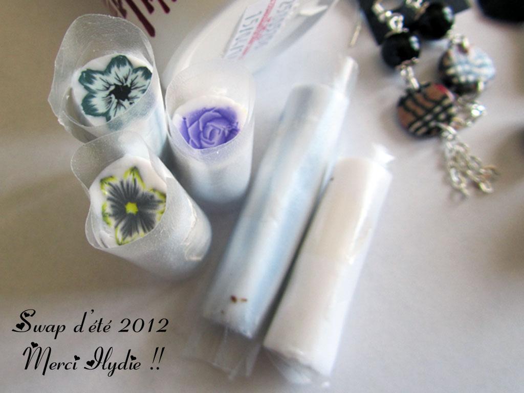 Swap d'été 2012 : Ce que j'ai reçu d'Ilydie !