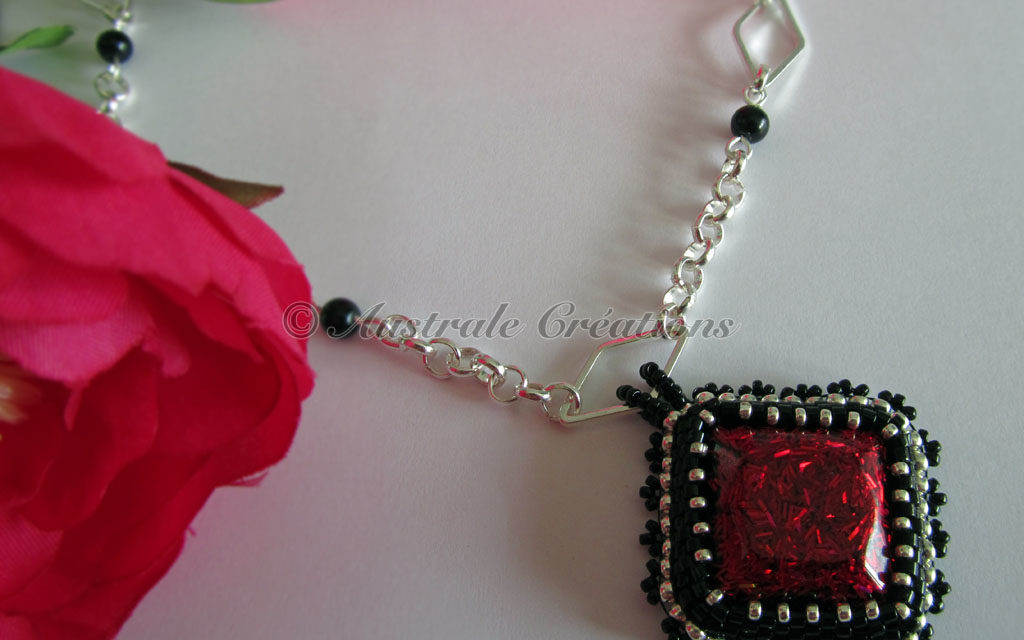 Collier « Red Diamond »
