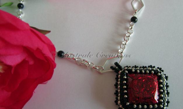 Collier «Red Diamond»