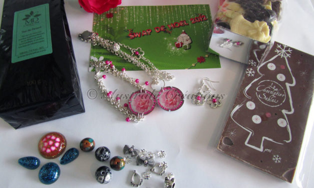Swap de Noël 2012 : Ce que j'ai envoyé à Linoa !