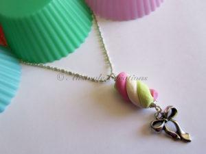 Colliers Guimauves (Rose et Vert anis)