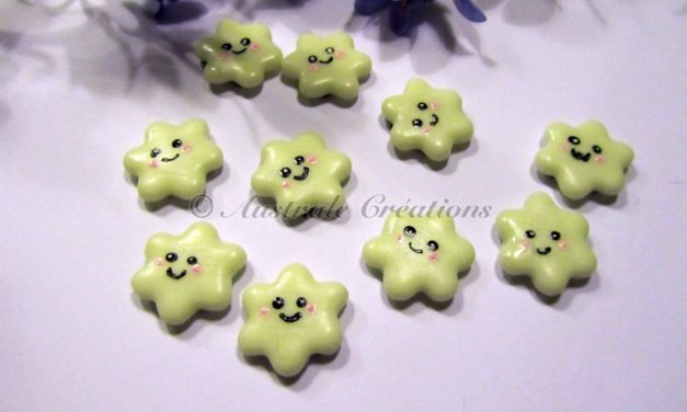 Magnets Petites Fleurs Kawaii