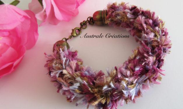 Bracelets Kumihino à poils