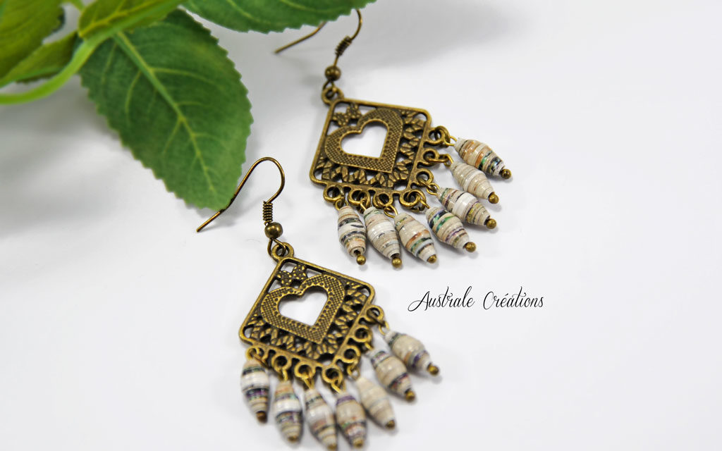 Parure «Paper Beads»