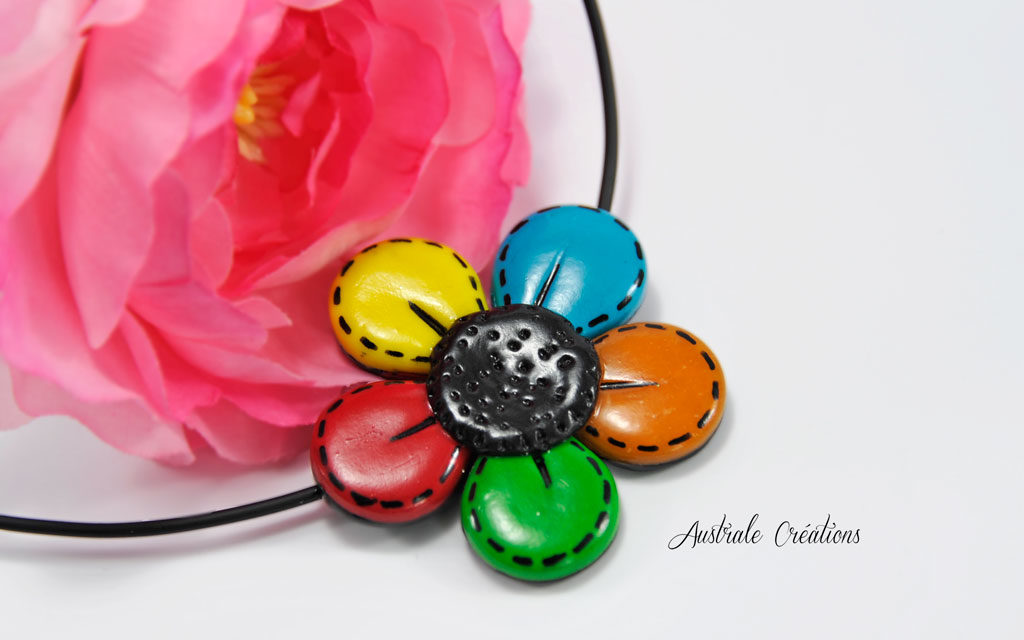 Collier « Flower by »