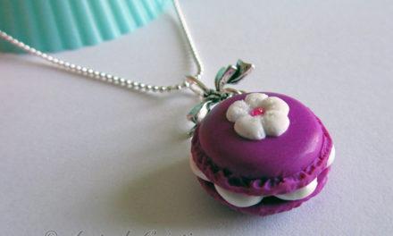 Colliers & Portes clés Macarons