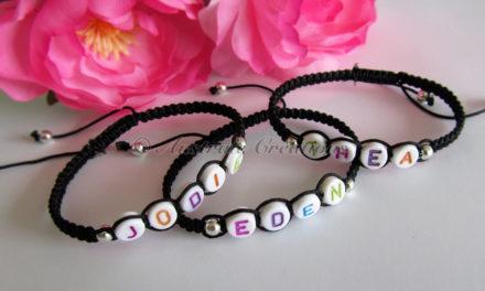 Bracelets Shamballa «My name is…»