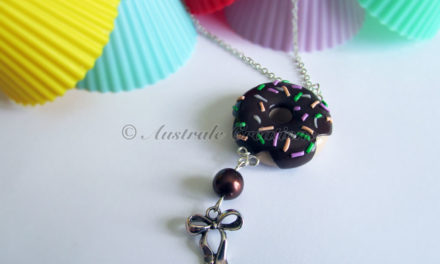 Collier « Donut's choco vermicelle »