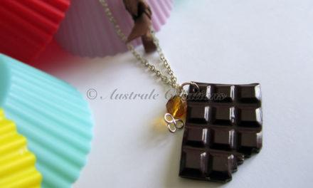 Parure «Chocolat croquant»