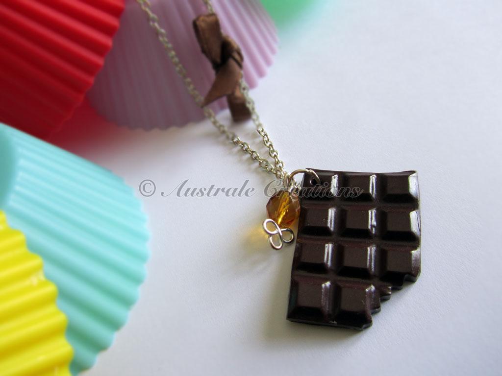 """Parure """"Chocolat croquant"""""""
