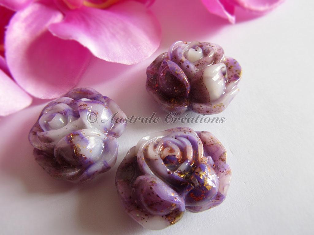 Magnets « petite rose »