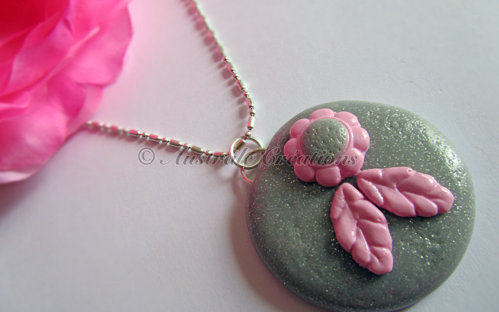 Parure «Pink Grey»