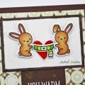 Carte Colorisée : You warm my heart