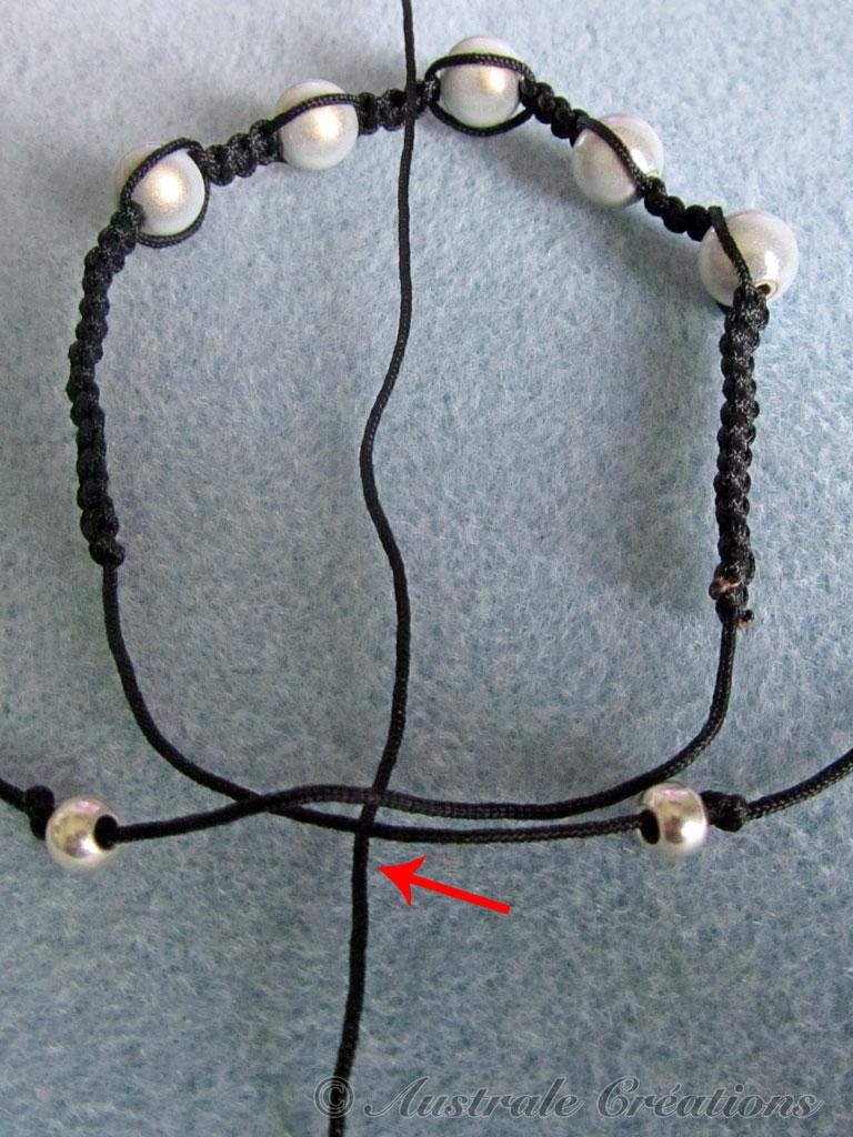 tutoriel bracelet shamballa australe cr ations. Black Bedroom Furniture Sets. Home Design Ideas