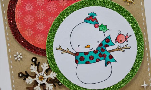 Carte : Esprit de Noel