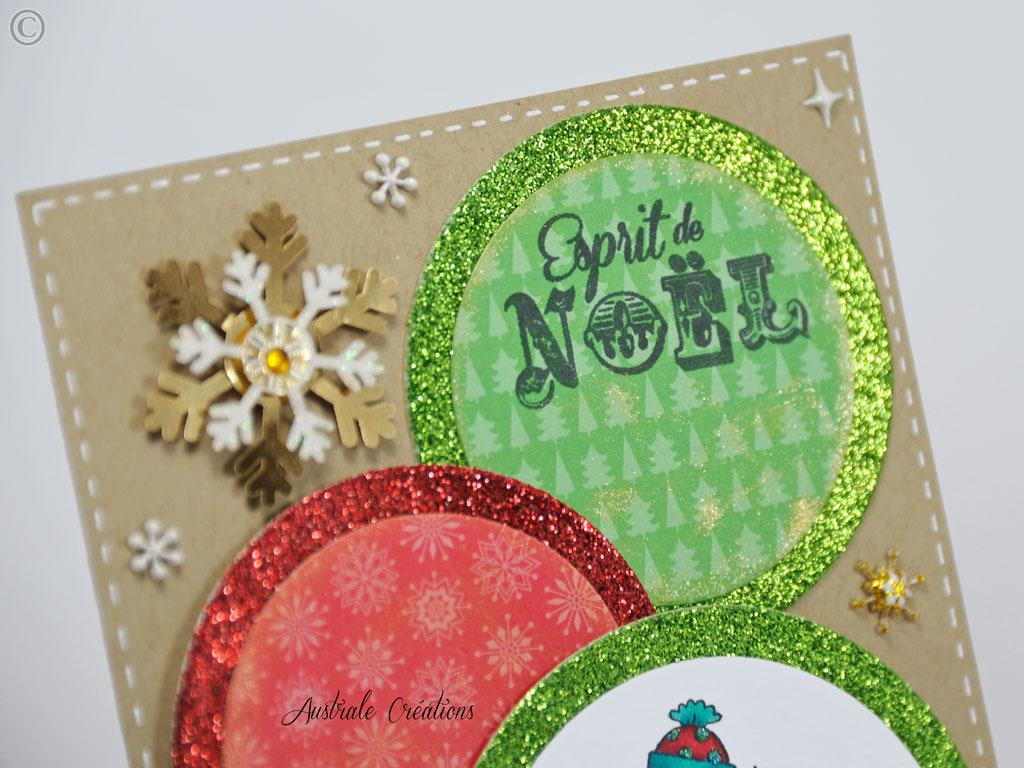 Carte Esprit de Noel