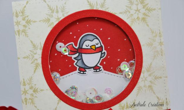 Carte : Shaking Penguin